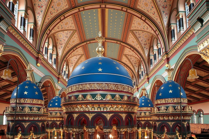 Inside Princes Road Synagogue: prepare to be dazzled