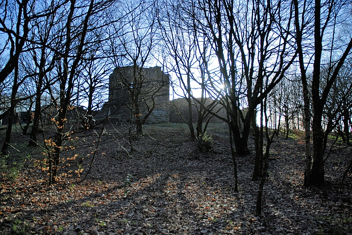 The replica of Liverpool Castle at Rivington in 2007
