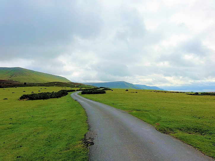 The road to Capel-y-ffin