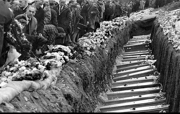 Burying the dead after the disaster