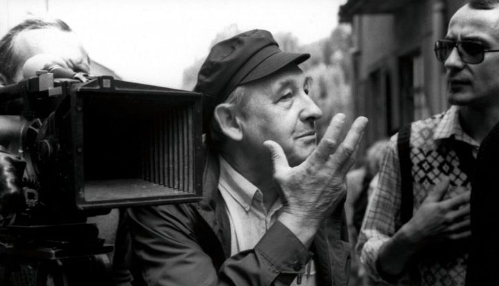 Andrjez Wajda directing