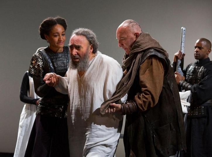 Cordelia, Lear and Kent