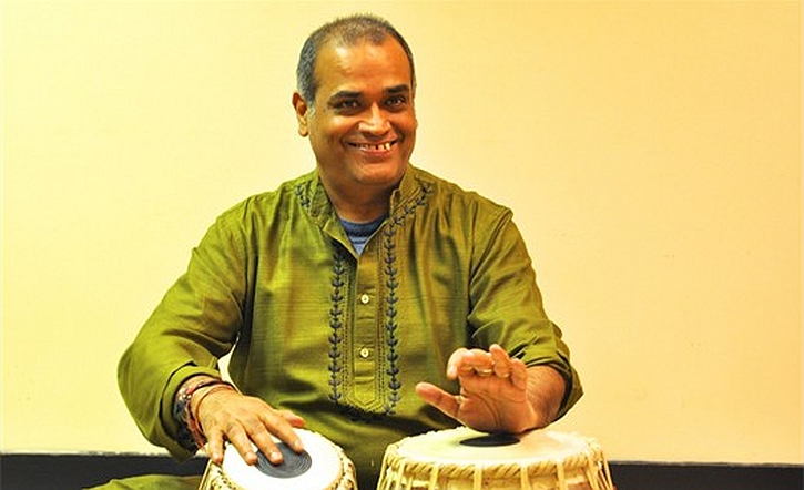 Rajkumar Misra on tabla