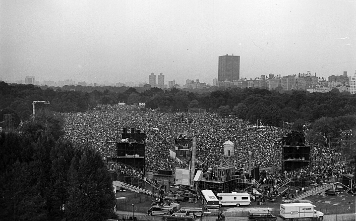 Simon and Garfunkel's Concert in Central Park
