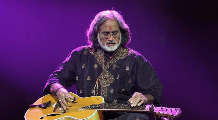 Vishwa Mohan Bhatt gives an astounding, ear-bending performance at the Capstone