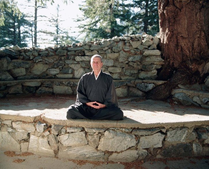 At the Mount Baldy Zen Center, east of Los Angeles, in 1995