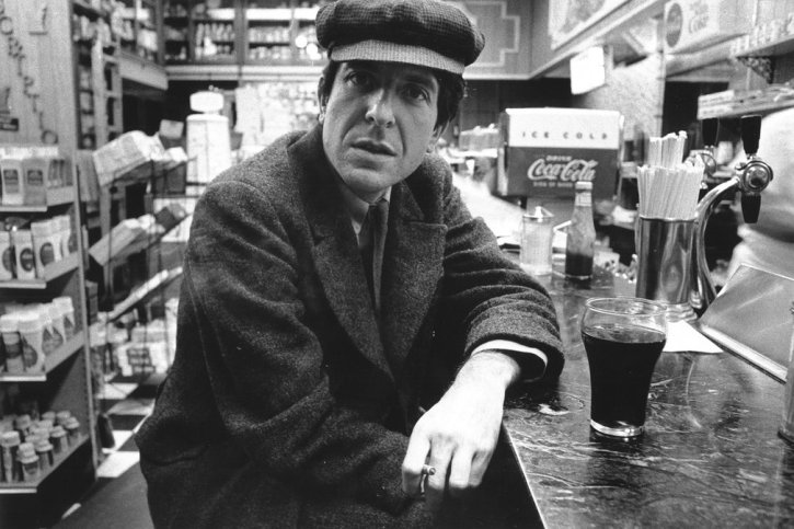 Cohen, circa 1960.