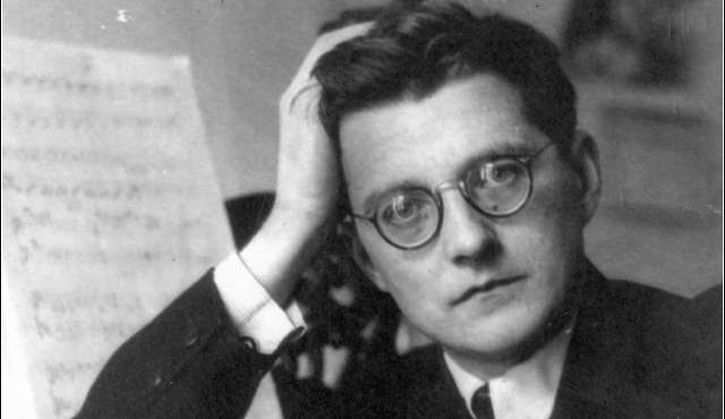 Dimitri Shostakovich as a young man