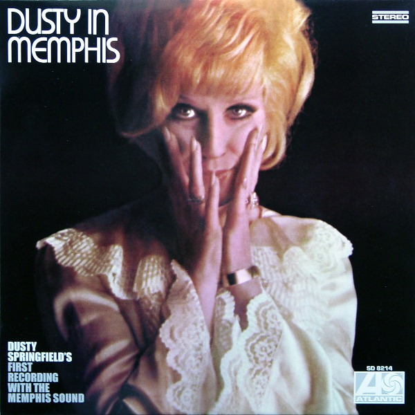 Cover of Dusty Springfield's Dusty in Memphis LP, 1969