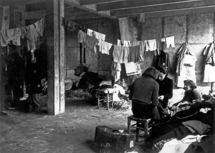 Jewish women in their barracks in Drancy, France, 3rd December 1942.