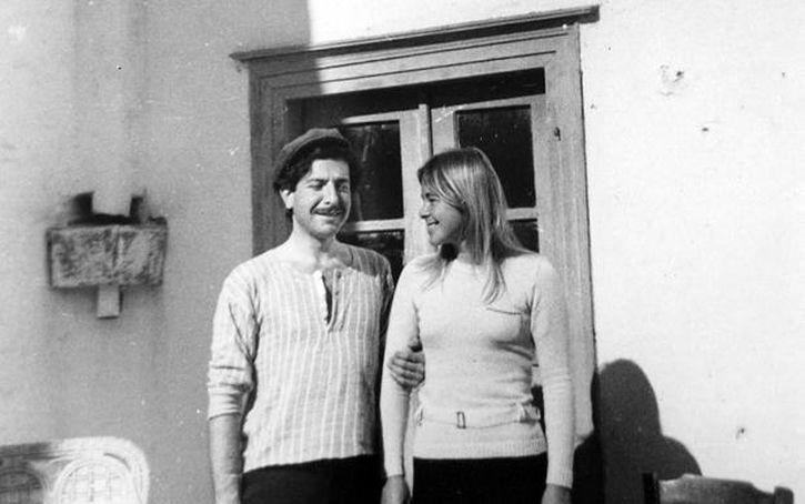 Leonard Cohen and Marianne Ihlen on Hydra