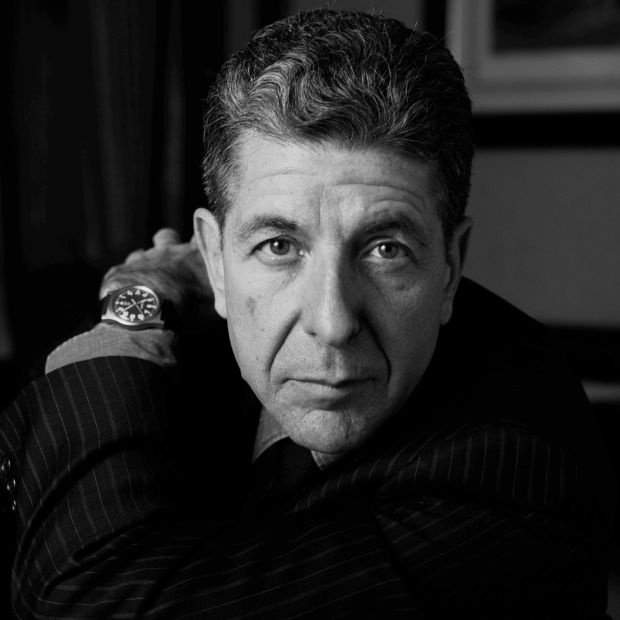 Leonard Cohen in 1987