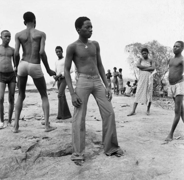 Malick Sidibé, A la Bagnade au fleuve Niger ...1974