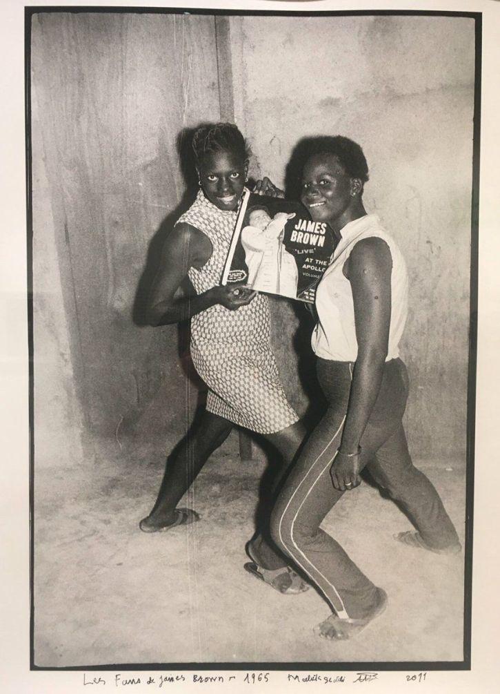 Malick Sidibé, James Brown fans, 1965