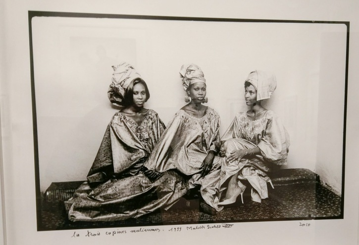 Malick-Sidibé, Les Trois Copines Maliennes, 1999