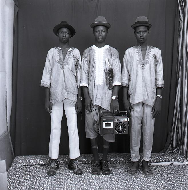 Malick Sidibé,, Les Jeunes Bergers Peulhs, 1972