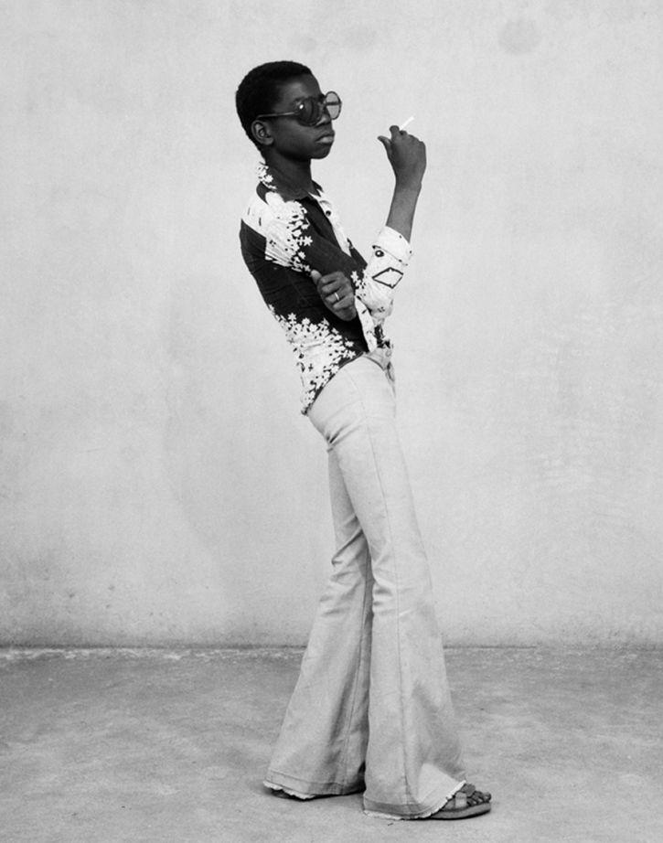Malick Sidibé, Un Yeye en Position, 1965
