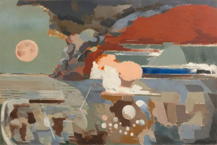 Paul Nash, Battle of Germany, 1944