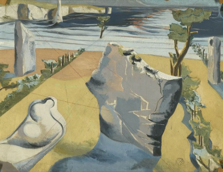 Paul Nash, Circle of the Monoliths, 1937