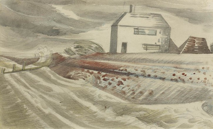 Paul Nash, Dymchurch, 1922