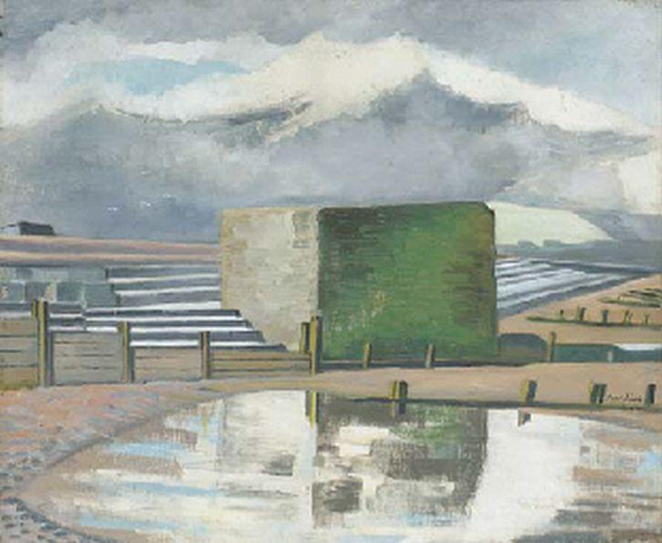 Paul Nash, Dymchurch Steps, 1924