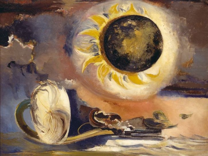 Paul Nash, Eclipse of the Sunflower, 1945