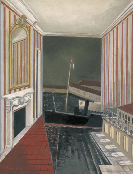 Paul Nash, Harbour and Room, 1932-6