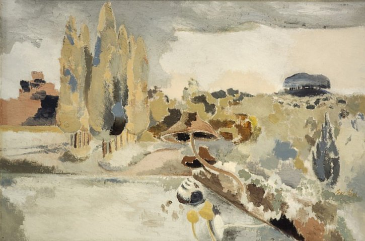 Paul Nash, Landscape Of The Brown Fungus, 1943