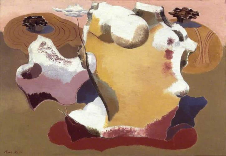 Paul Nash, Landscape of the Megaliths, 1934