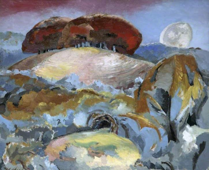 Paul Nash, Landscape of the Moon's Last Phase, 1944