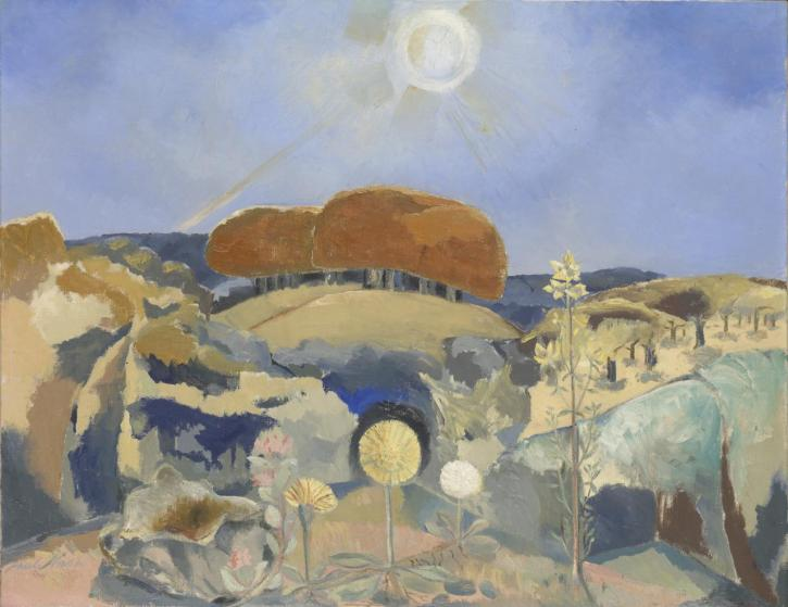 Paul Nash, Landscape of the Summer Solstice, 1943