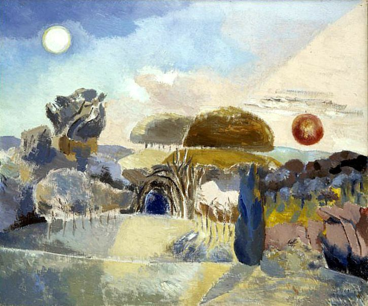 Paul Nash, Landscape Of The Vernal Equinox III, 1944