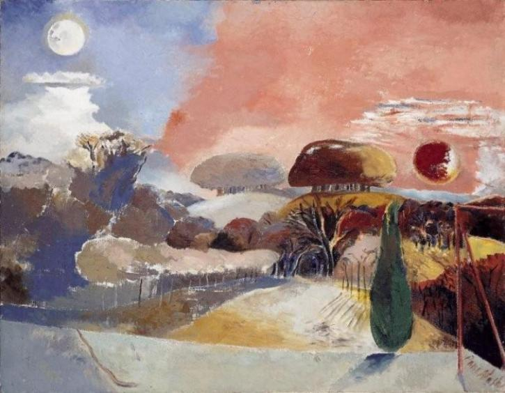 Paul Nash, Landscape of the Vernal Equinox, 1944