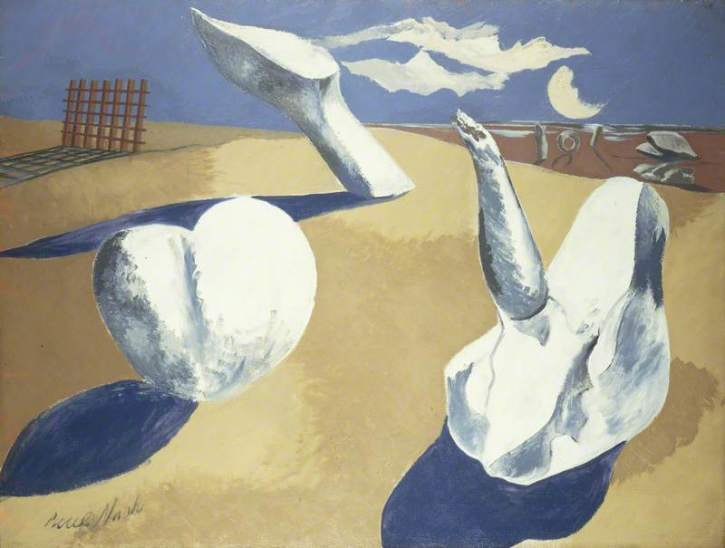 Paul Nash, Nocturnal Landscape, 1923-38