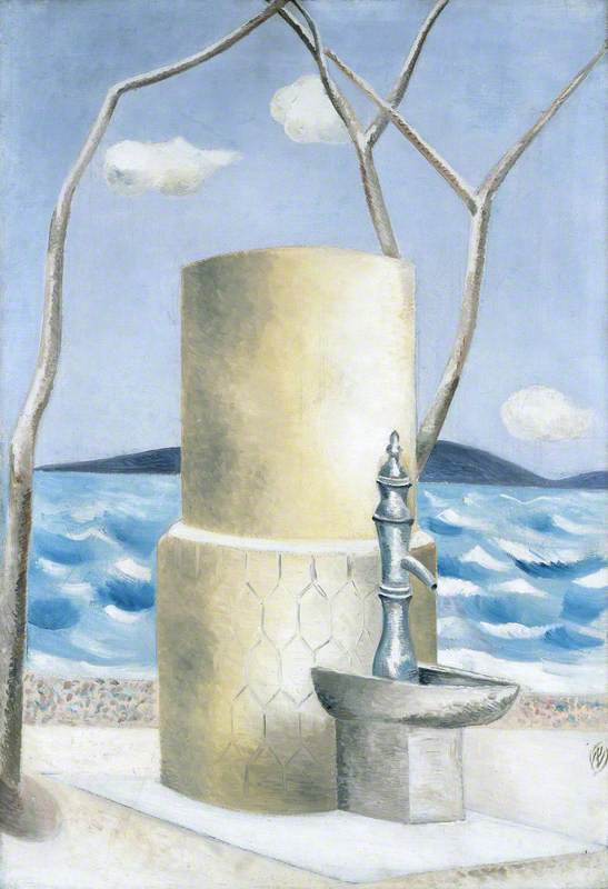 Paul Nash, Plage (Tower), 1928