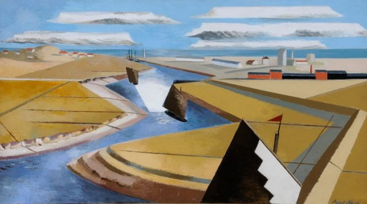 Paul Nash, The Rye Marshes, 1932
