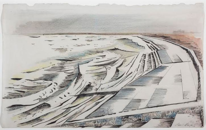 Paul Nash, The Shore, 1922