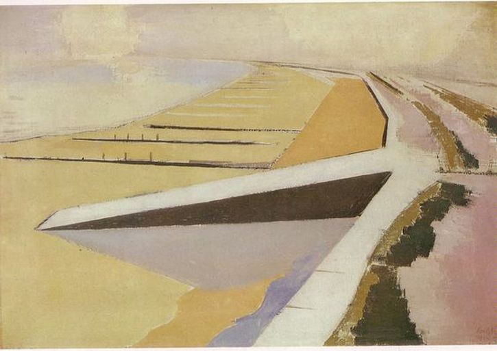 Paul Nash, The Shore, 1923