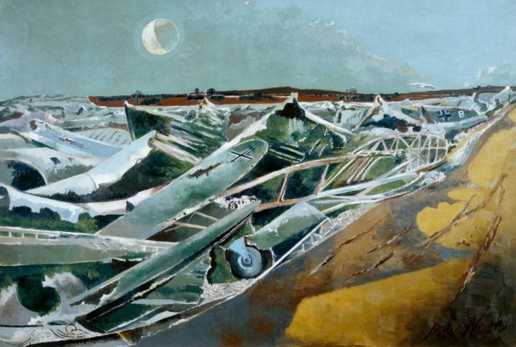 Paul Nash, Totes Meer (Dead Sea) 1940-1