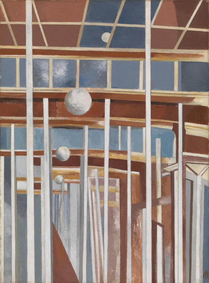Paul Nash, Voyages of the Moon 1934-7
