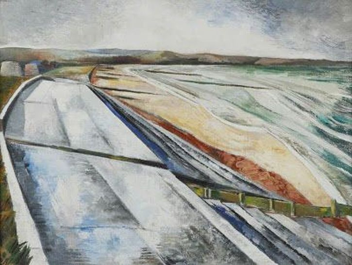 Paul Nash, Wall Against the Sea, 1922