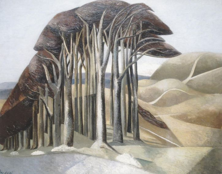 Paul Nash, Wood on the Downs, 1929