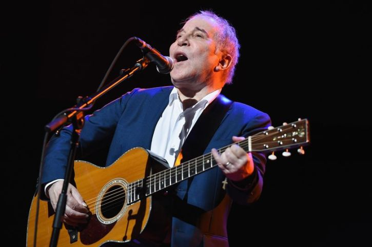Paul Simon performs in New York in 2016