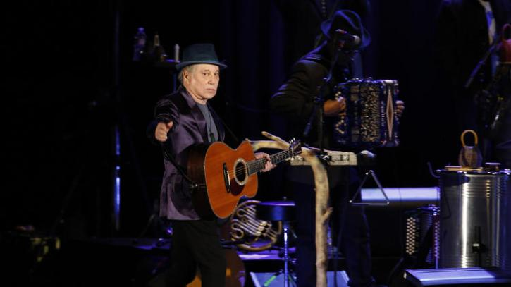 Paul Simon takes the stage at the Hollywood Bowl in June