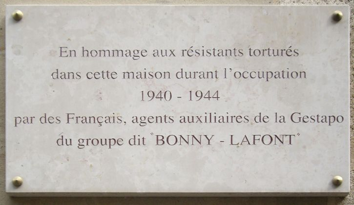 plaque_gestapo_francaise_93_rue_lauriston_paris_16