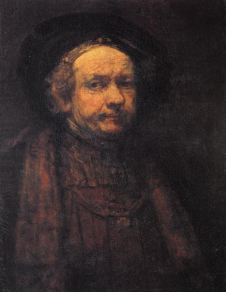 Rembrandt, Self-portrait, 1668
