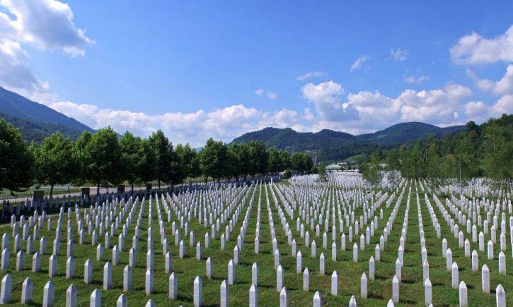 The Srebrenica massacre memorial centre