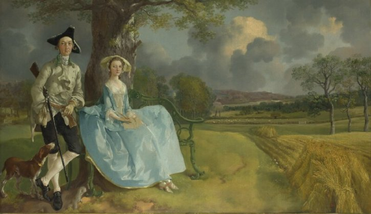 Thomas Gainsborough, Mr and Mrs Andrews