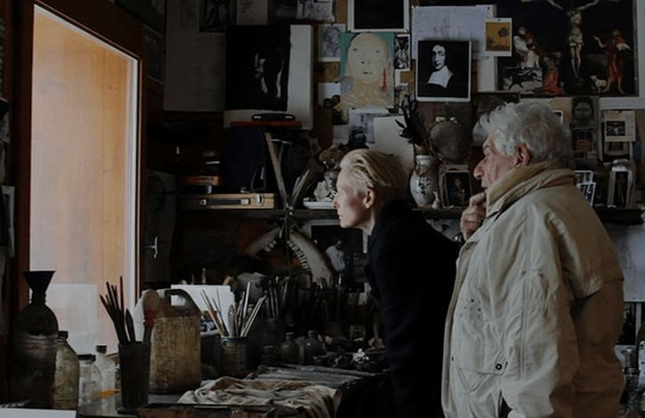 Tilda Swinton and John Berger in The Seasons in Quincy