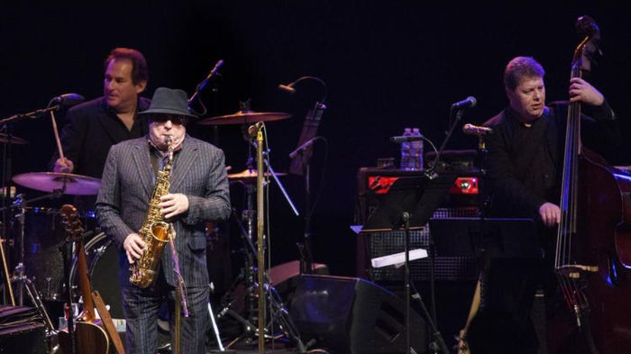 Van Morrison at the Phil: in good voice and totally committed